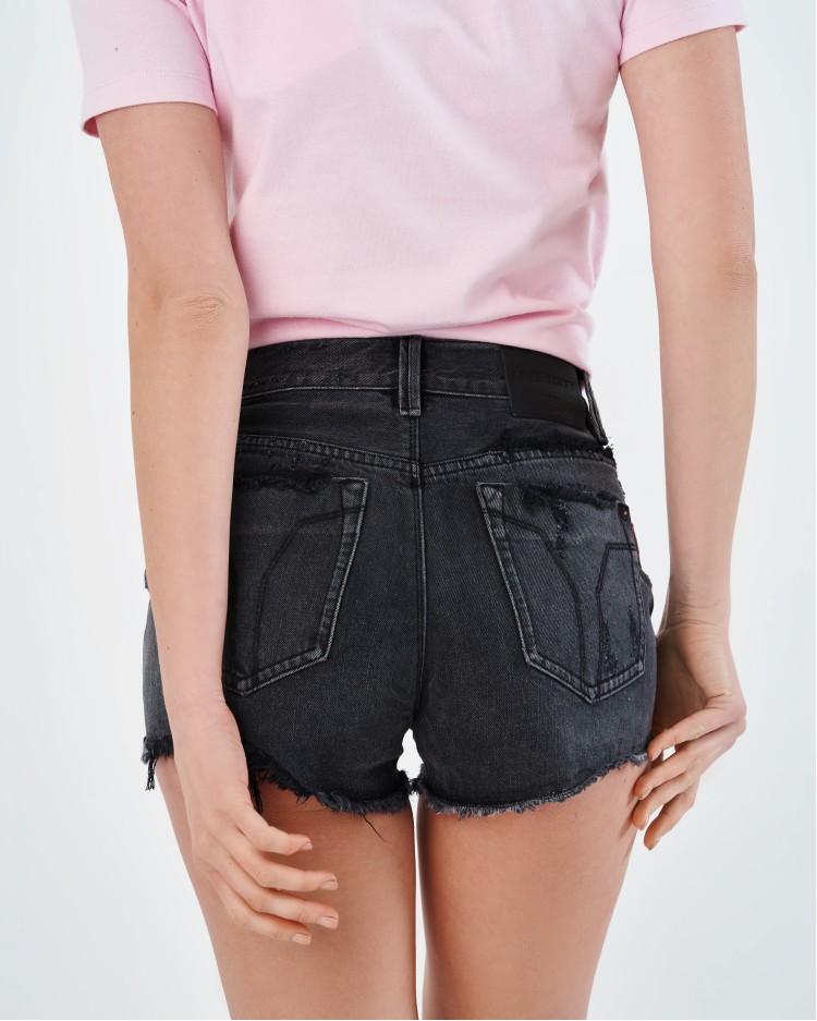 Черные джинсовые шорты Miss Sixty