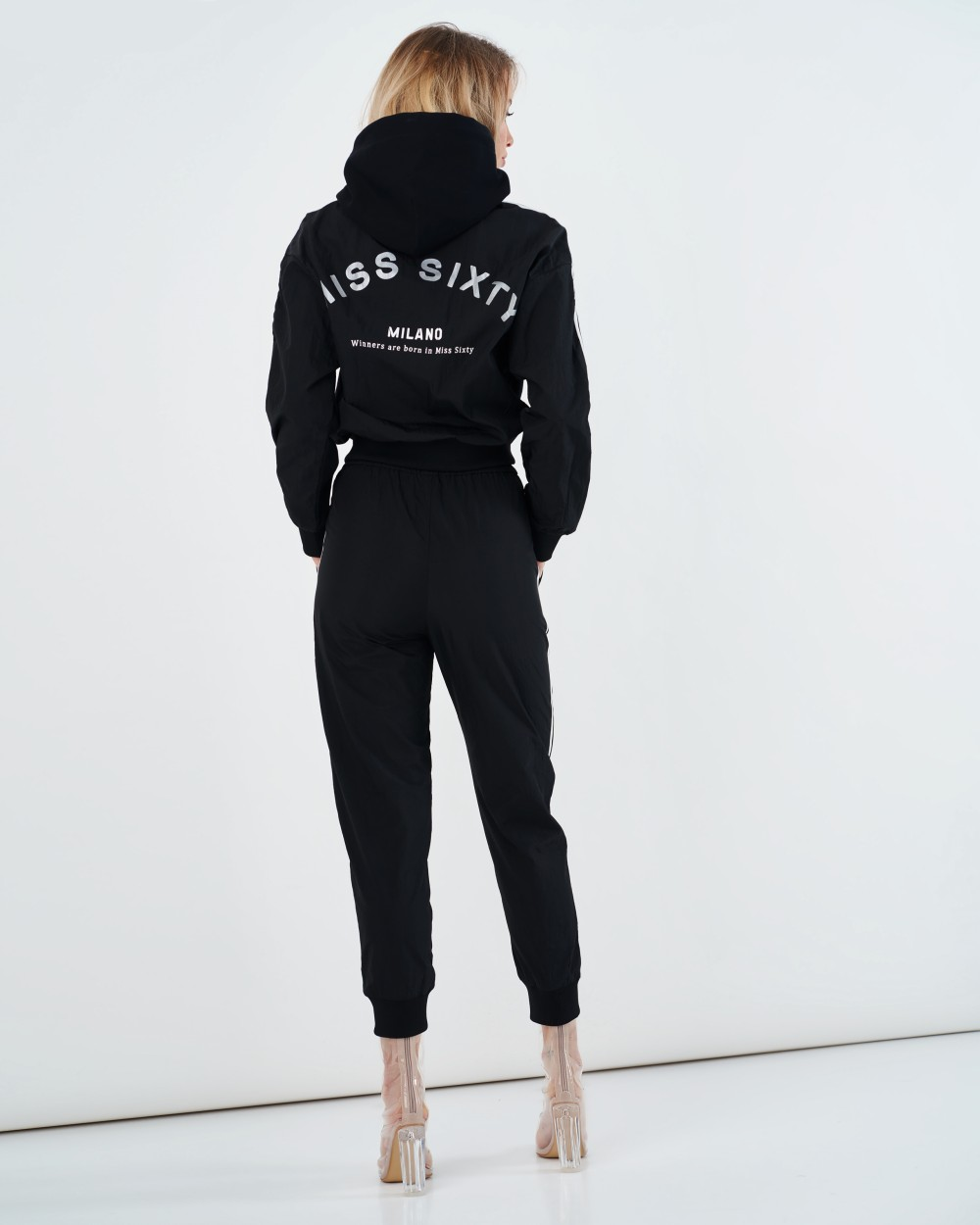 Черный спортивный костюм Miss Sixty
